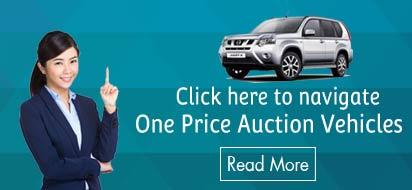 Click here to navigate one price auction vehicles